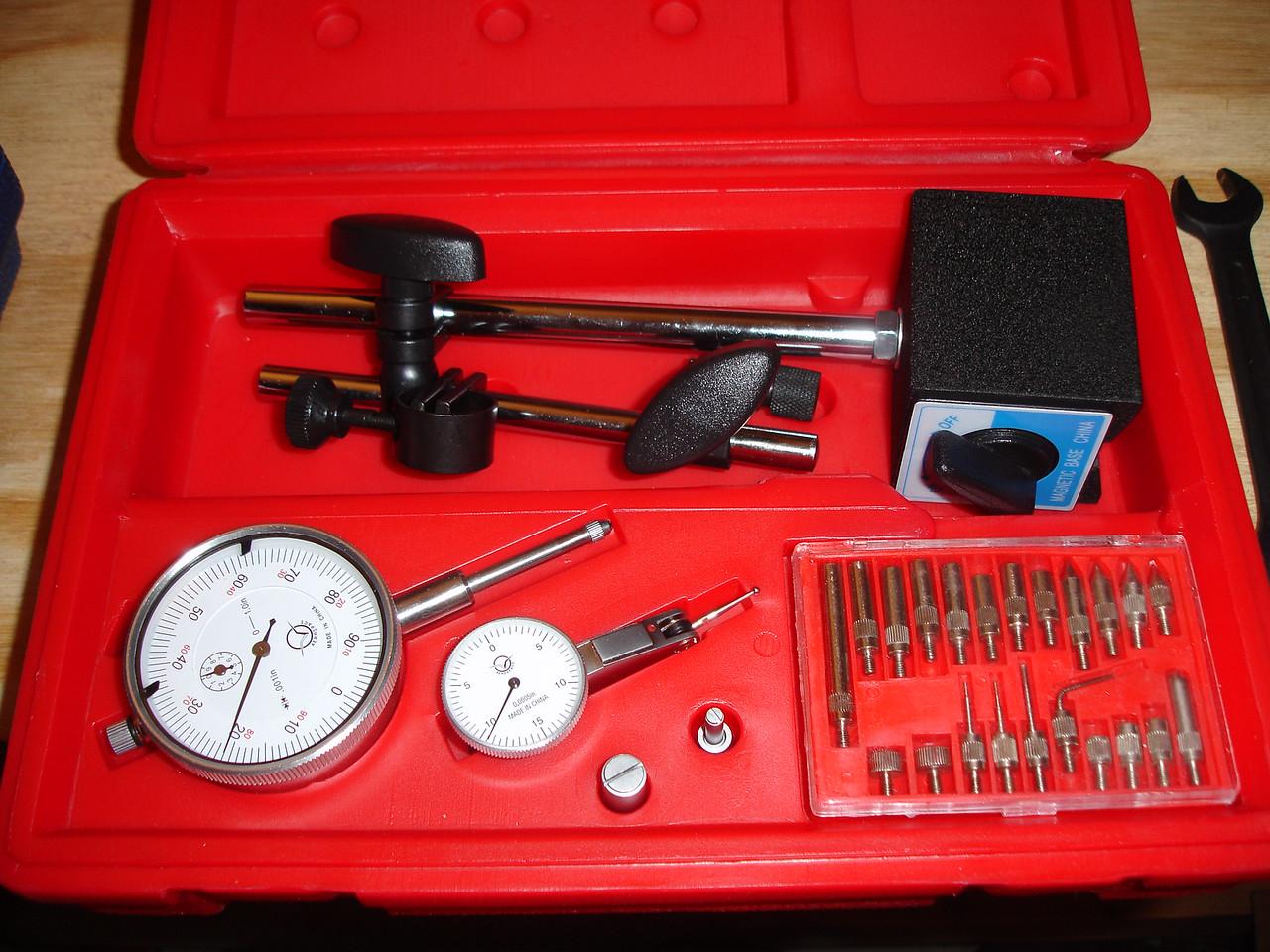 Dial indicator kit