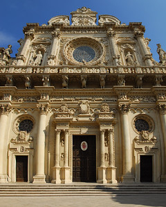 Cathedral in Lecce - Stiched