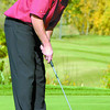 Citizen photo by Brent Braaten Aberdeen Glen pro Ian Wrynn putting on the 9th hole during Sun Life Cup play.