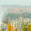 Citizen photo by Brent Braaten Poor air quality in the BCR Industrial site Thursday morning.