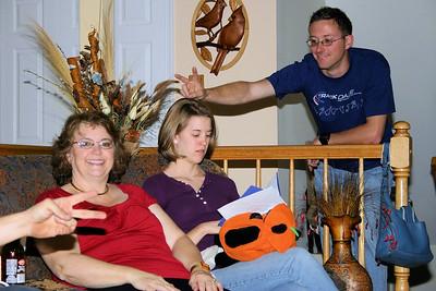 Deb, Carrie and Joe (Carrie's husband)