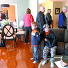 Citizen photo by David Mah The Prince George Spruce King Show Home had a steady stream on viewers Sunday. 2163 tickets have been sold out of the 6999 so far.