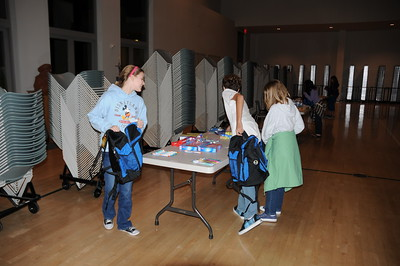 2008-12 P.U.S.H. Backpacks for Stand Up for Kids