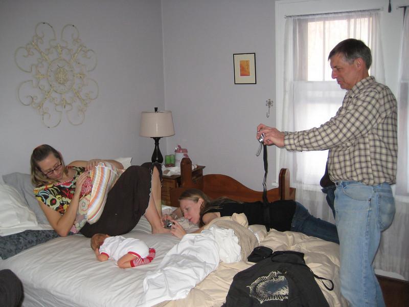 Sara, John & Boone