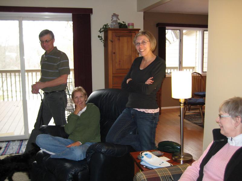 Sara, John & Betsy