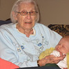 Great Grandma Eva & Boone