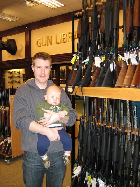 Jason, Boone & some guns!