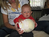 Sara & Boone w/ helmet form