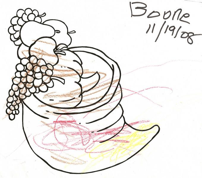Boone's first art