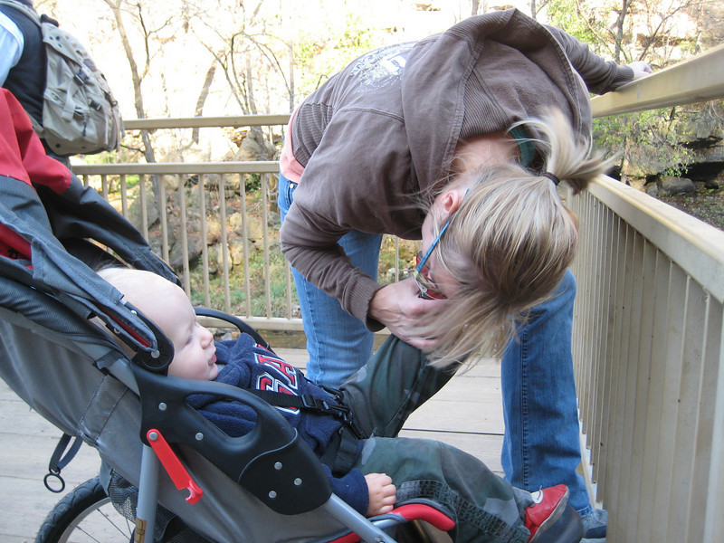 Boone & Sara at Willow River