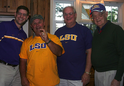 Proof that, deep down, they all know who the best team is!