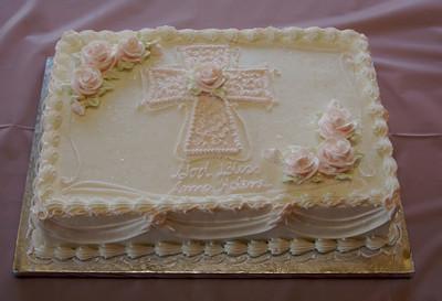 Mmm... Ambrosia's chocolate cake with raspberry cream cheese filling!