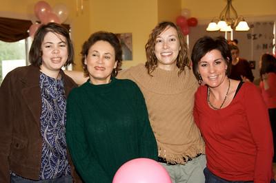 Bridget, Aunt Ruthie, Wendy, and Aunt Stella