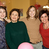 Bridget, Aunt Ruthie, Wendy, and Aunt Stella