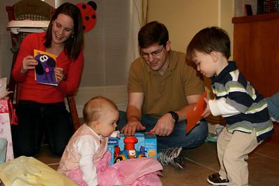 Will shows Anna a card