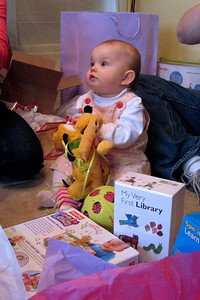 Aunt Kati & Uncle Doug brought her a Pluto from Disney World