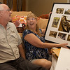 We gave Mom & Dad a frame with photographs from their travelsz