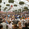 The Hofbrau tent on a Monday afternoon.