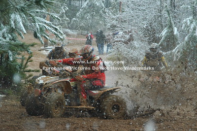2008 Perry Mountain Tri-Sanction Hare Scramble 4 Wheelers