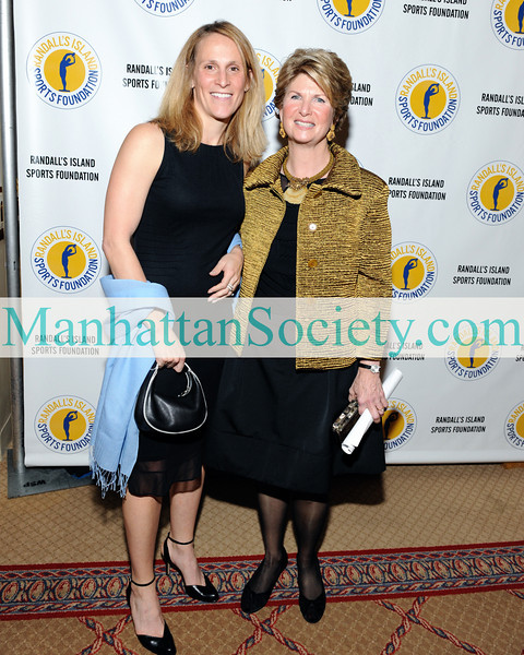 NEW YORK-NOVEMBER 24: Kristine Lilly and President Randall's Island Sports Foundation, Karen Cohen attend 2008 Randall's Island Sports Foundation Champion's for Children's Gala at The Plaza Hotel, New York, NY on Monday, November 24, 2008  (Photo Credit: Gregory Partanio/ManhattanSociety.com)