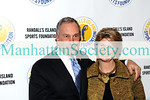 NEW YORK-NOVEMBER 24:  Mayor Michael Bloomberg and and President Randall's Island Sports Foundation, Karen Cohen attend 2008 Randall's Island Sports Foundation attend 2008 Randall's Island Sports Foundation Champion's for Children's Gala at The Plaza Hotel, New York, NY on Monday, November 24, 2008  (Photo Credit: Gregory Partanio/ManhattanSociety.com)