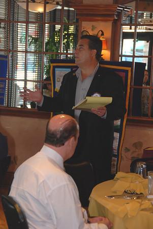 2008 Westmont Rotary Club Honors Tom Mulhearn with Paul Harris Award