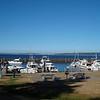 the marina at Blake Island