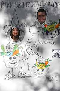Susan Fox and Gerardo Blumenkrantz-- the latter of which designed this year's Halloween Cartoon!