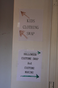 The Kid's Clothing Swap helped lots of folks recycle perfectly good clothes!