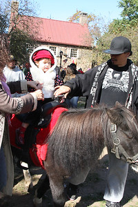 Pony rides were a BIG hit!