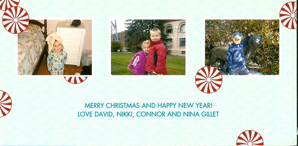 2008.12 Holiday Cards & Pics