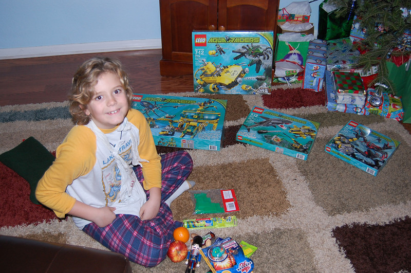 Christmas morning - Santa gifts