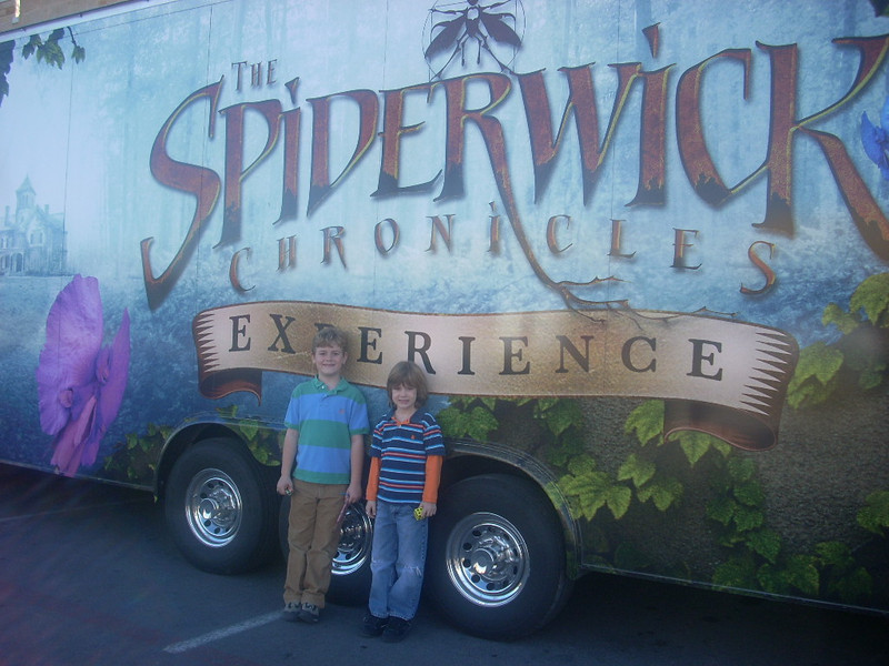 Spiderwick Chronicles Tour, January