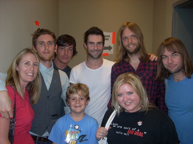 Maroon 5 show in May