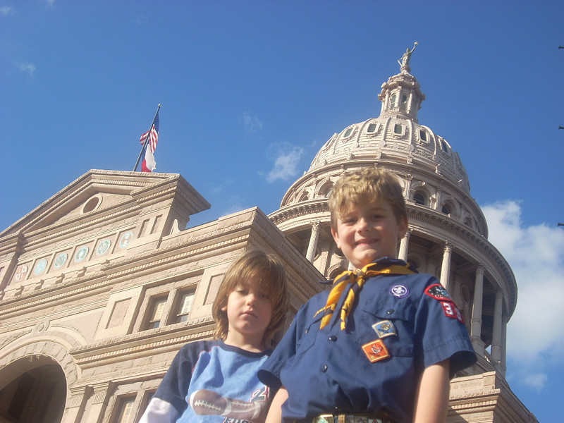 Texas Capitol Tour, January