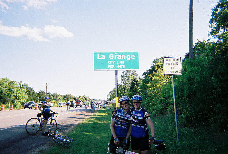 100 miles into the MS 150