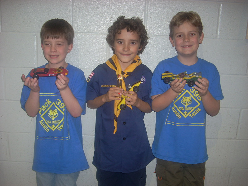 Pinewood Derby, January 08