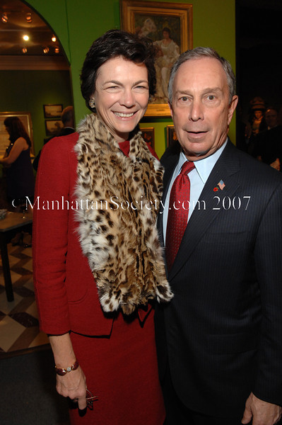 Diana Taylor, Mayor Mike Bloomberg