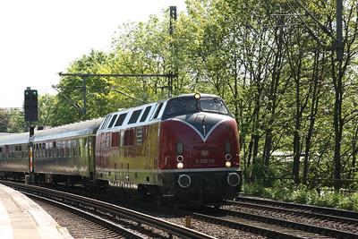 9th - 12th May 2008 V200116 to Hamburg