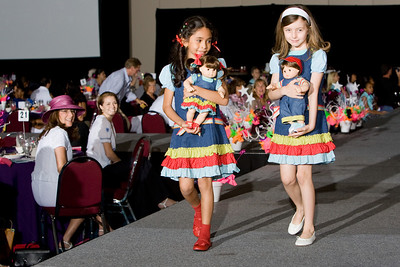 2008 American Girl Fashion Show at the Broward County Convention Center