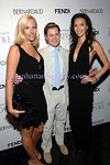 Catherine Forbes, Kipton Cronkite, Olivia Chantecaille attend AMERICAN FRIENDS OF THE LOUVRE'S Young Patrons Circle: Soiree au Louvre  Tuesday, June 24, 2008, 9 p.m.-Midnight, ESPACE, 635 West 42nd Street, New York City, NY. PHOTO CREDIT:Copyright ©Manhattan Society.com 2008 by Christopher London | tel:Private |e-mail: ChrisLondon@manhattansociety.com