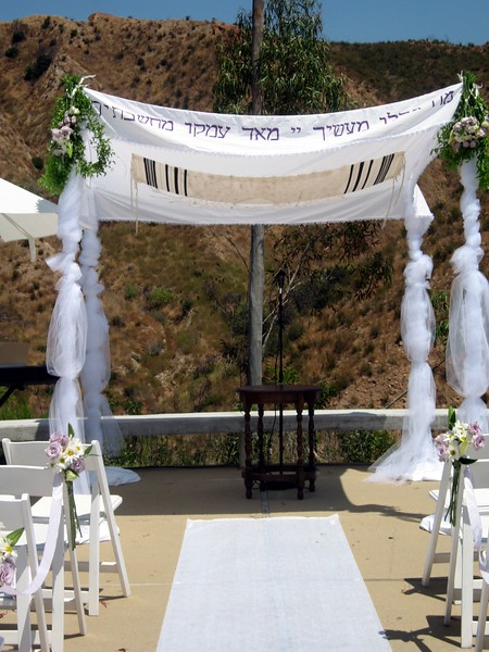 The chuppah