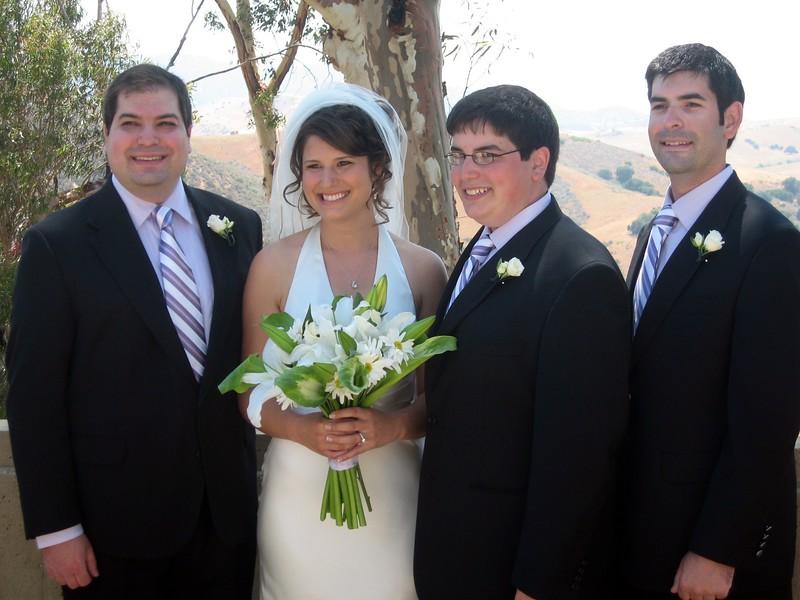 Craig (l), Abby, Jordan, David