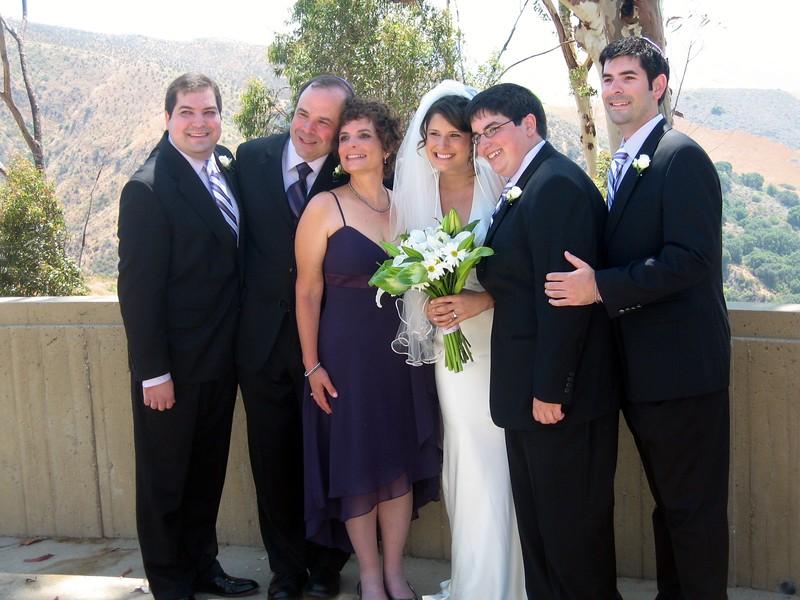 Craig (l), Gary, Hope, Abby, Jordan, David