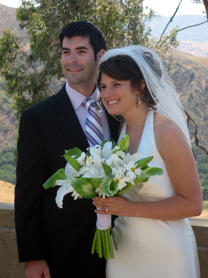 David (brother of the bride) and Abby