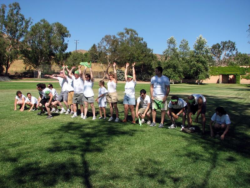 Team Fifer does the wave