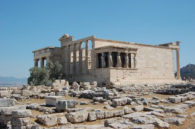 Another view of the Acropolis - Marguerite Vera