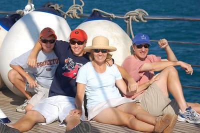 Sailing is fun - Marguerite Vera