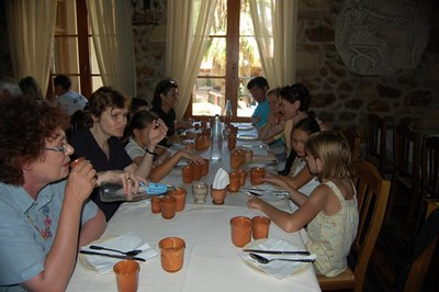 Lunch at Archaie Restaurant - Marguerite Vera