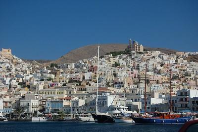Scenic Greek port - Marguerite Vera